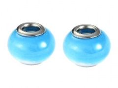 2PCS Stainless Steel Bead For Jewelry PAT-227D