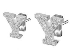 Stainless Steel Earrings ES-0839Y ES-0839Y ES-0839Y ES-0839Y