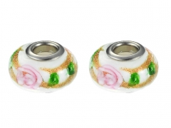2PCS Stainless Steel Bead For Jewelry PAT-231