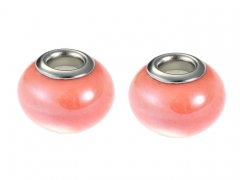 2PCS Stainless Steel Bead For Jewelry PAT-227B