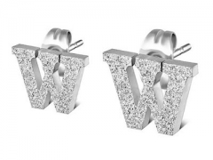 Stainless Steel Earrings ES-0839W ES-0839W ES-0839W ES-0839W