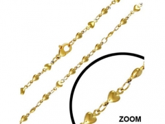 Gold Stainless Steel Chain CH-045B