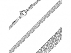 Stainless Steel Flat Mesh Link Chain For Pendant CH-072A