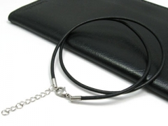 Leather Cable with Stainless Steel Closure CH-001A