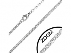 2mm Small Steel Necklace CH-022-2