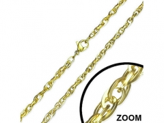 3mm Small Steel Gold Chain CH-050B