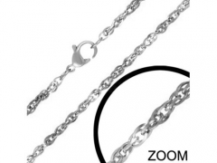 2mm Small Steel Necklace CH-050-2
