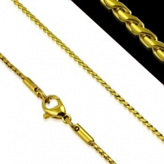 Gold Pvd Stainless Steel Chain CH-087B