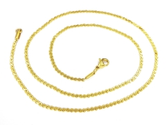 Gold Pvd Stainless Steel Chain CH-075B