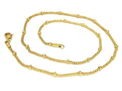 Gold Pvd Stainless Steel Chain CH-090B