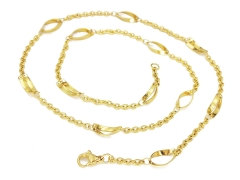 Gold Pvd Stainless Steel Chain CH-094B