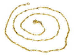 Gold Pvd Stainless Steel Chain CH-089