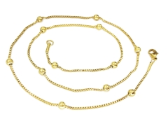 Gold Pvd Stainless Steel Chain CH-091B