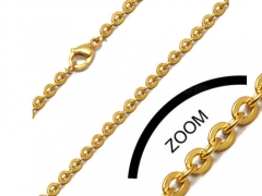 1mm Gold Stainless Steel Chain CH-022B-1