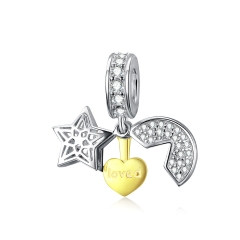925 Sterling Silver Pendant Charms    BSC098