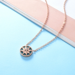 Stainless Steel Necklace NS-0724C