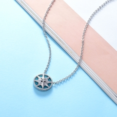 Stainless Steel Necklace NS-0724A