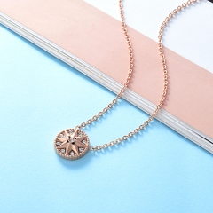 Stainless Steel Necklace NS-0722C