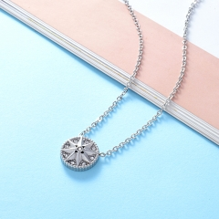 Stainless Steel Necklace NS-0722A