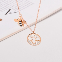 Stainless Steel Necklace NS-0737C