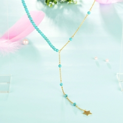 Stainless Steel Necklace   NS-CJ-0747