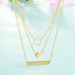 Stainless Steel Necklace    NS-CJ-0746