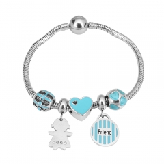 Stainless Steel Charms Bracelet Y240179