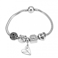 Stainless Steel Charms Bracelet Y245114