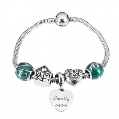 Stainless Steel Charms Bracelet Y245136