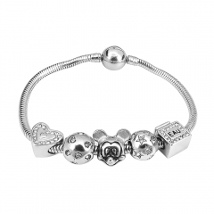 Stainless Steel Charms Bracelet Y265119