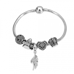 Stainless Steel Charms Bracelet Y245112