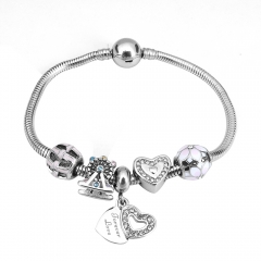 Stainless Steel Charms Bracelet Y265201