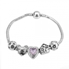 Stainless Steel Charms Bracelet Y255205