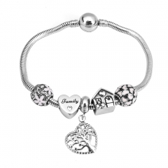 Stainless Steel Charms Bracelet Y255211