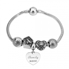 Stainless Steel Charms Bracelet Y245123