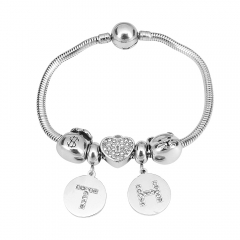Stainless Steel Charms Bracelet Y255108