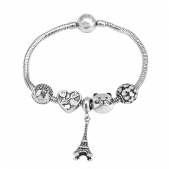 Stainless Steel Charms Bracelet Y255218