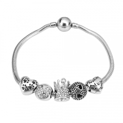 Stainless Steel Charms Bracelet Y245126