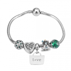 Stainless Steel Charms Bracelet Y250135