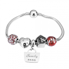 Stainless Steel Charms Bracelet Y245159