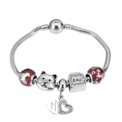 Stainless Steel Charms Bracelet Y260156