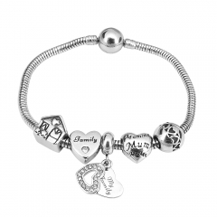 Stainless Steel Charms Bracelet Y245125