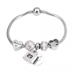 Stainless Steel Charms Bracelet Y255187