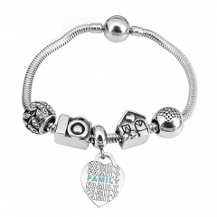 Stainless Steel Charms Bracelet Y240222