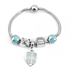Stainless Steel Charms Bracelet Y245223