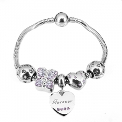 Stainless Steel Charms Bracelet Y255229