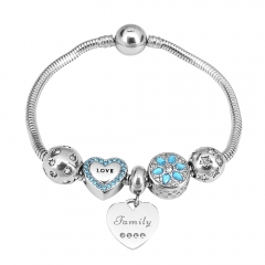 Stainless Steel Charms Bracelet Y255178