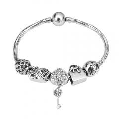 Stainless Steel Charms Bracelet Y250127