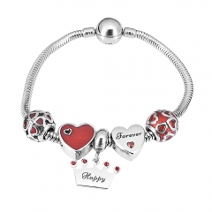 Stainless Steel Charms Bracelet Y245165
