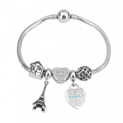 Stainless Steel Charms Bracelet Y245117